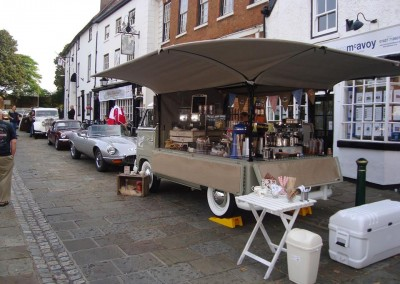 THE VINTAGE SPLIT ATHERSTONE CLASSIC CAR SHOW COFFEE